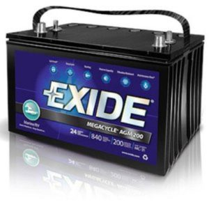 Exide marine battery review
