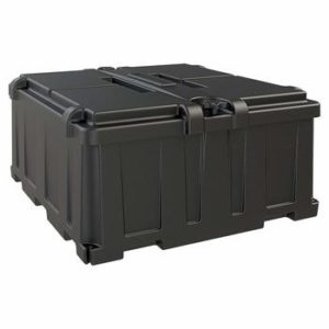 marine dual battery box